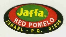 Jaffa Red Pomelo sticker