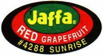 Jaffa Sunrise sticker